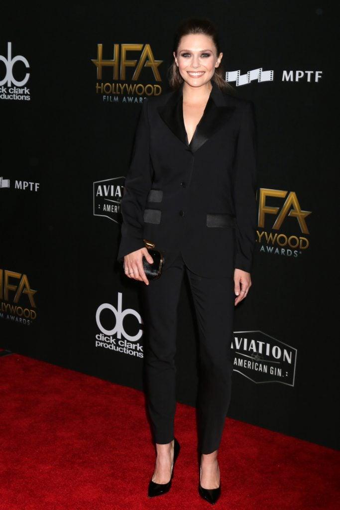 Elizabeth Olsen at Hollywood Film Awards