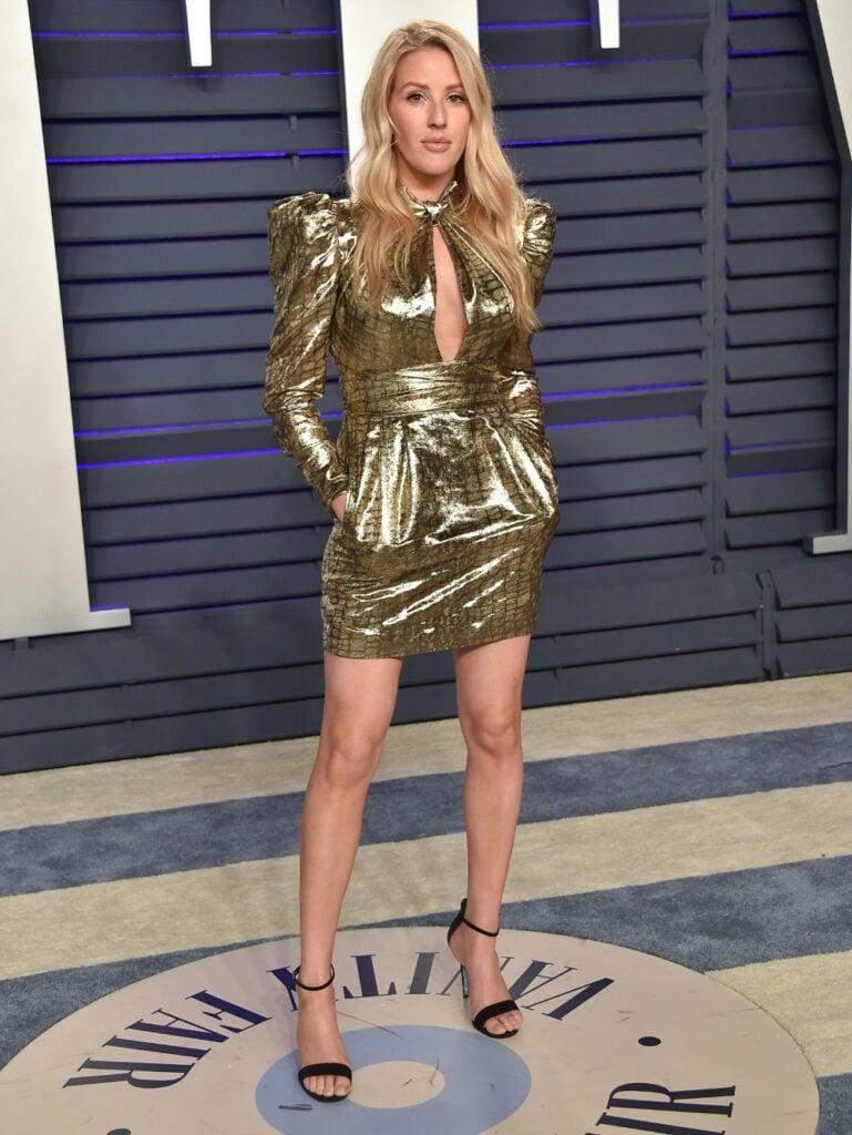 Ellie Goulding at Vanity Fair Oscar Party