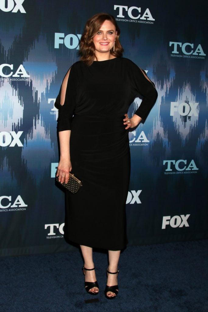 Emily Deschanel at FOXTV TCA Winter Star Party