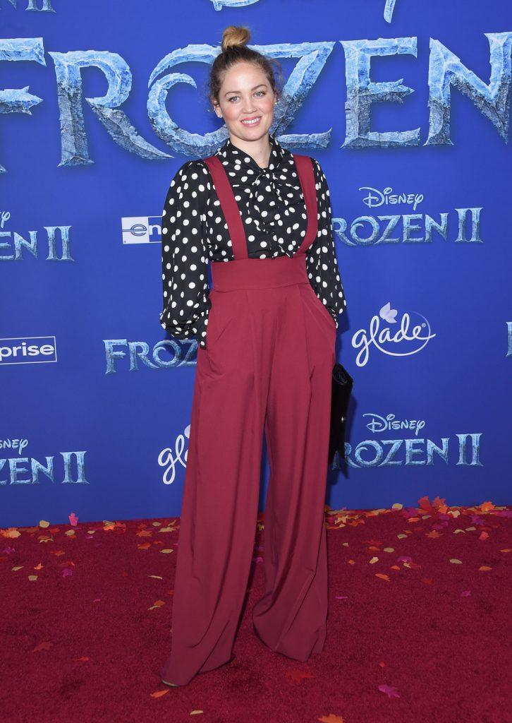 Erika Christensen at the Frozen movie Premiere