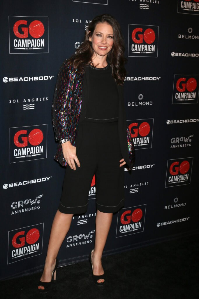 Evangeline Lilly at the GO Campaign