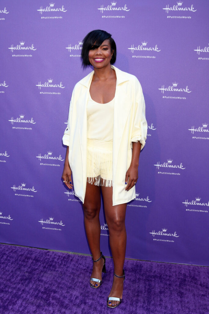 Gabrielle Union at Launch Party for Hallmark