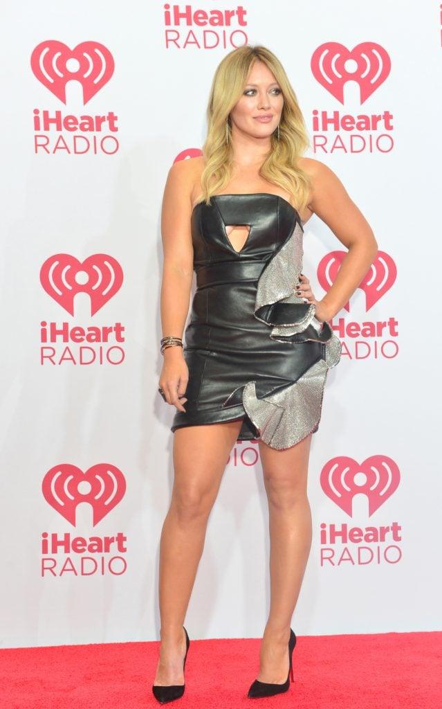 Hilary Duff at 2014 iHeartRadio Music Festival