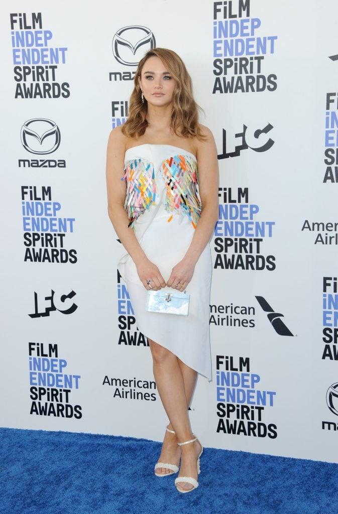 Hunter King at Annual Film Independent Spirit Awards