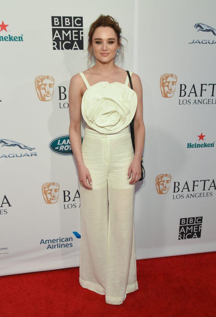 Hunter King at The BAFTA Los Angeles