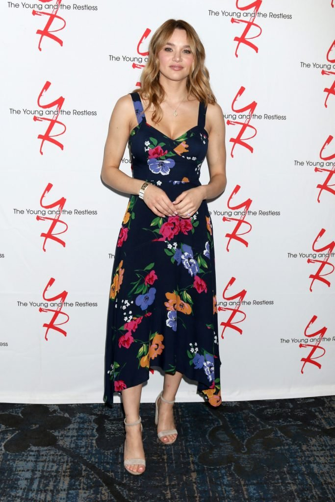 Hunter King at Young and The Restless Fan Club
