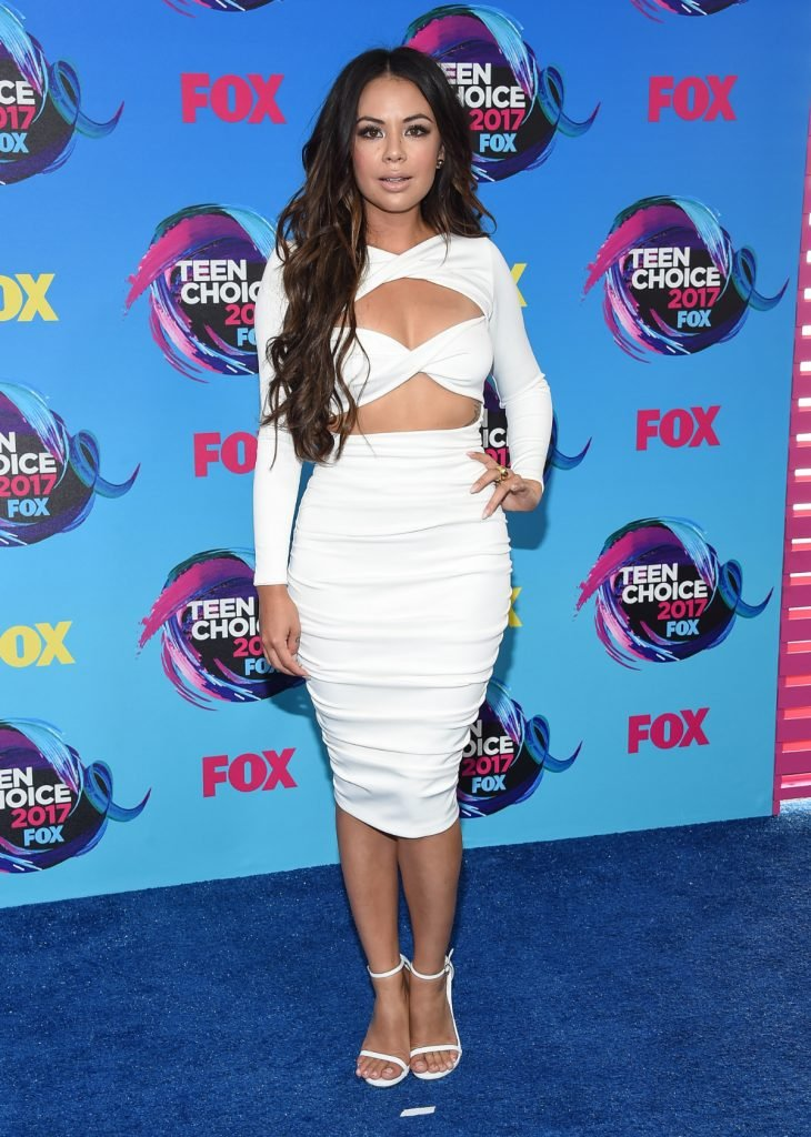 Janel Parrish at Teen Choice Awards