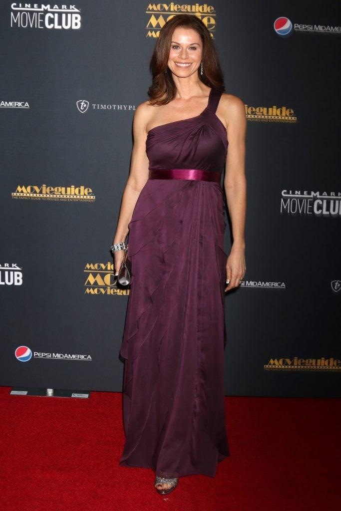 Jennifer Taylor at MovieGuide Awards