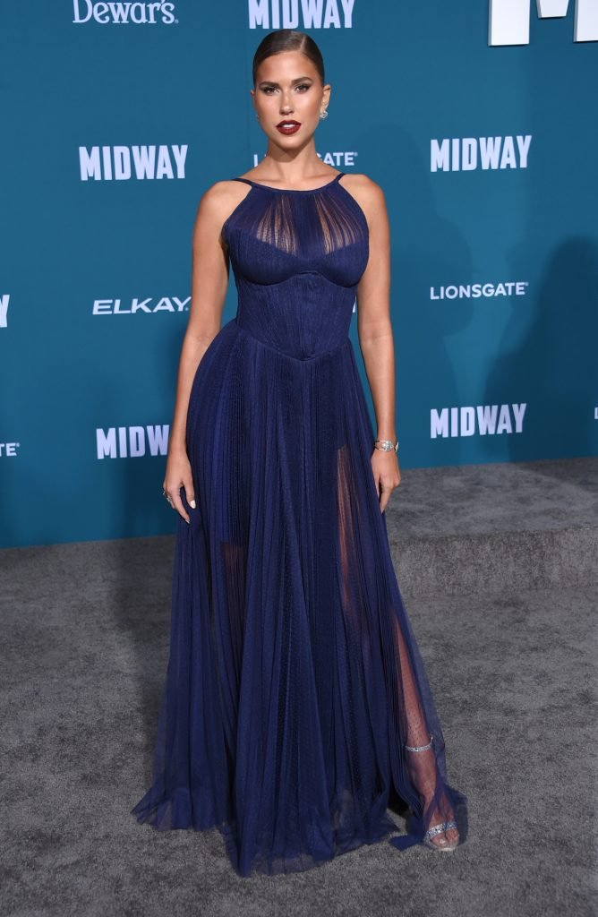 Kara Del Toro arrives for the 'Midway'