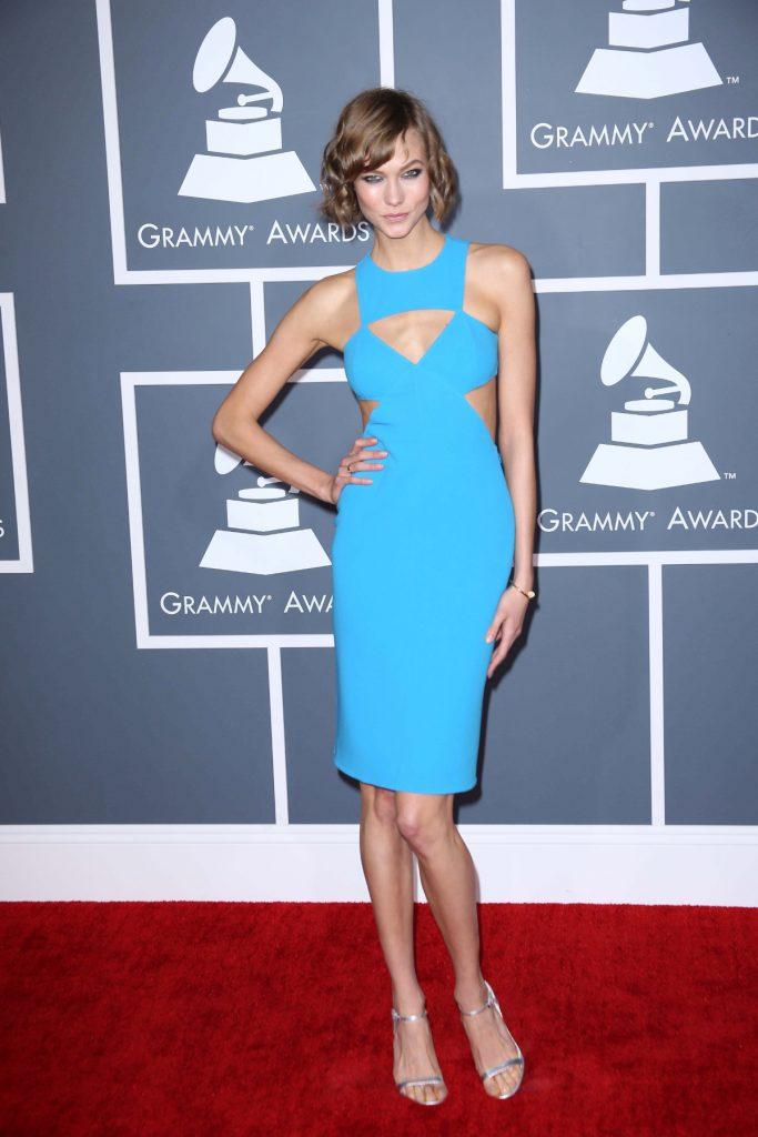 Karlie Kloss at GRAMMY Awards