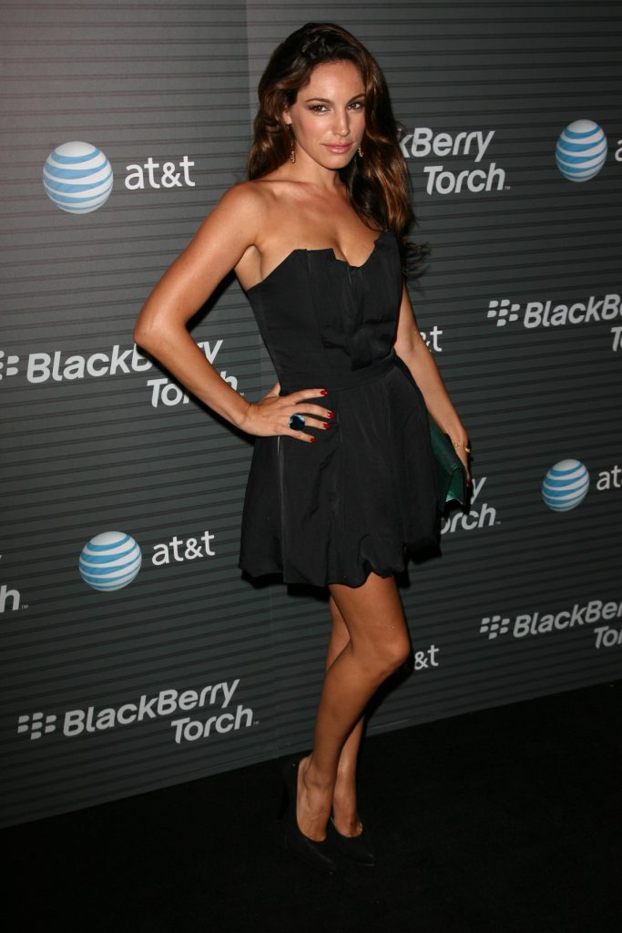 Kelly Brook at Blackberry Torch Launch Party