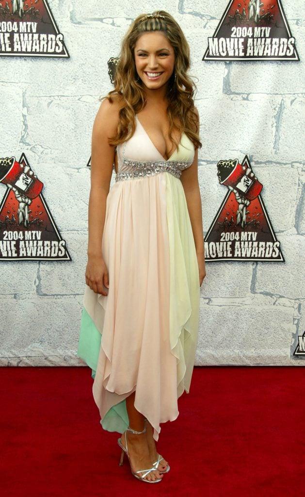 Kelly Brook at Mtv Movie Awards