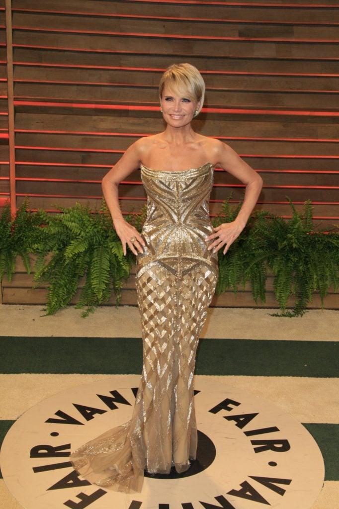 Kristin Chenoweth at Oscar Party