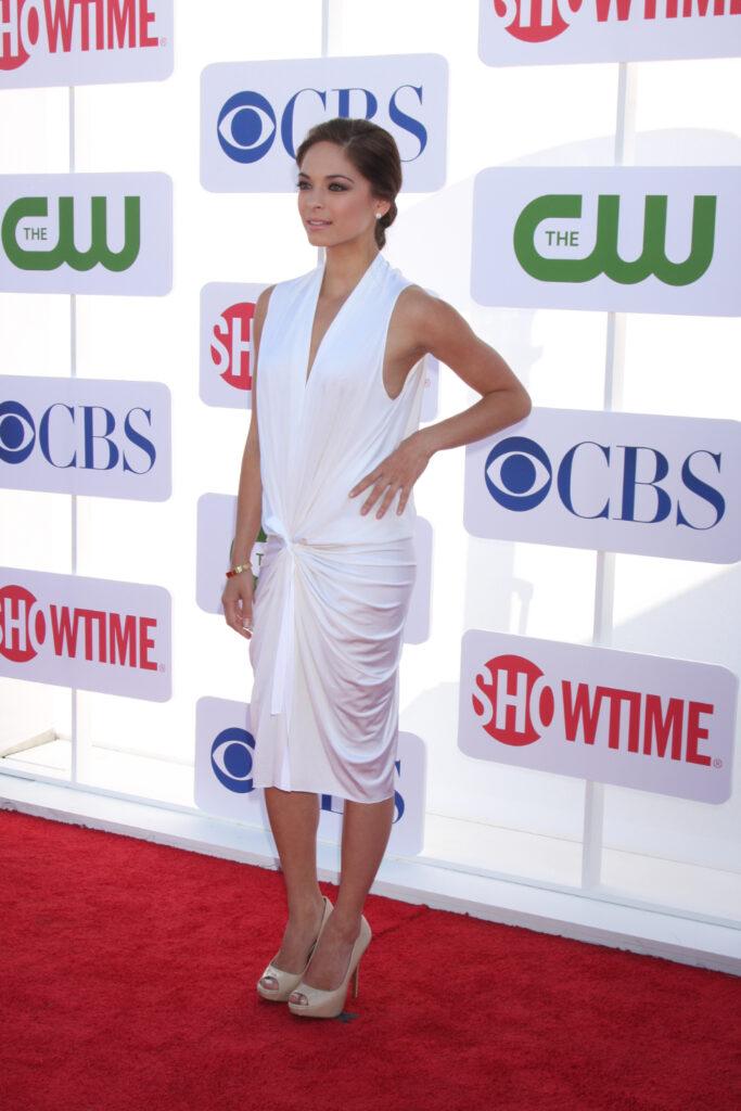 Kristin Kreuk at CBS, CW