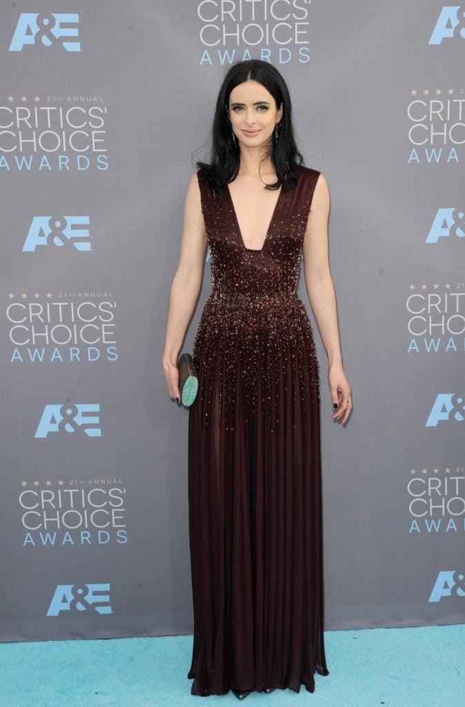 Krysten Ritter at Annual Critics Choice Awards