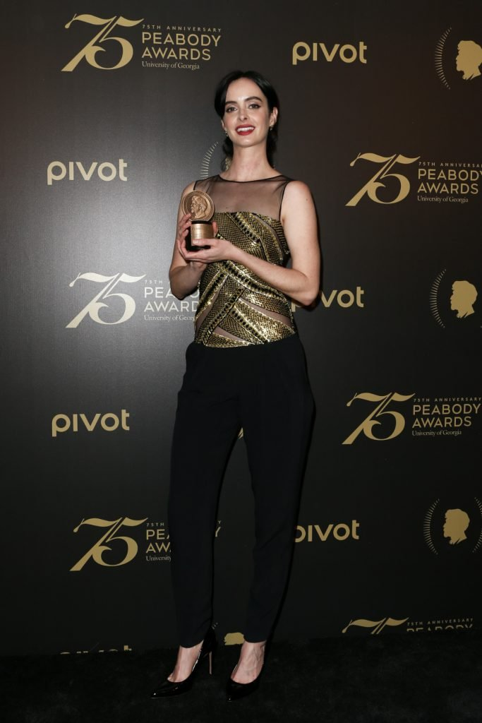 Krysten Ritter at Annual Peabody Awards