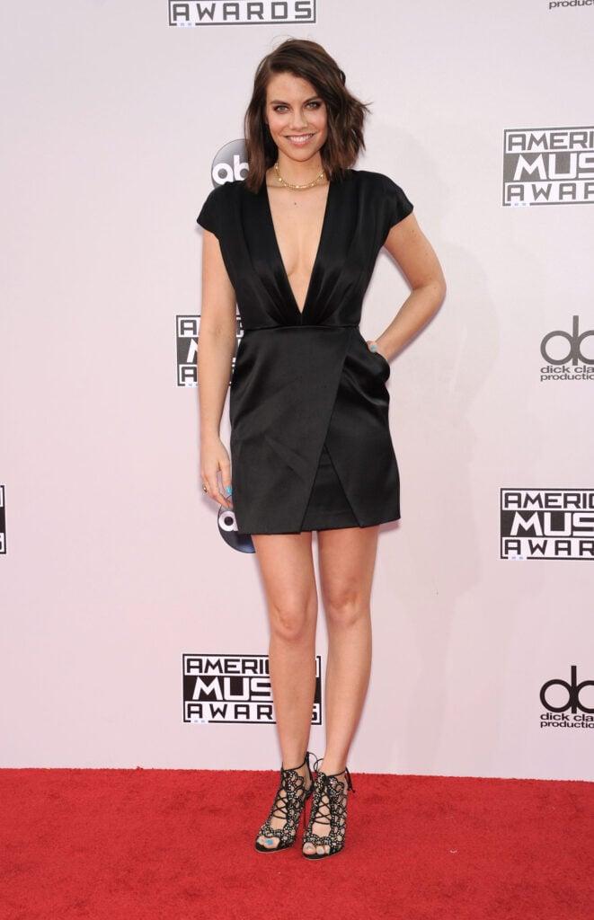 Lauren Cohan at American Music Awards