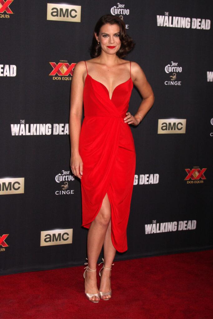 Lauren Cohan at The Walking Dead