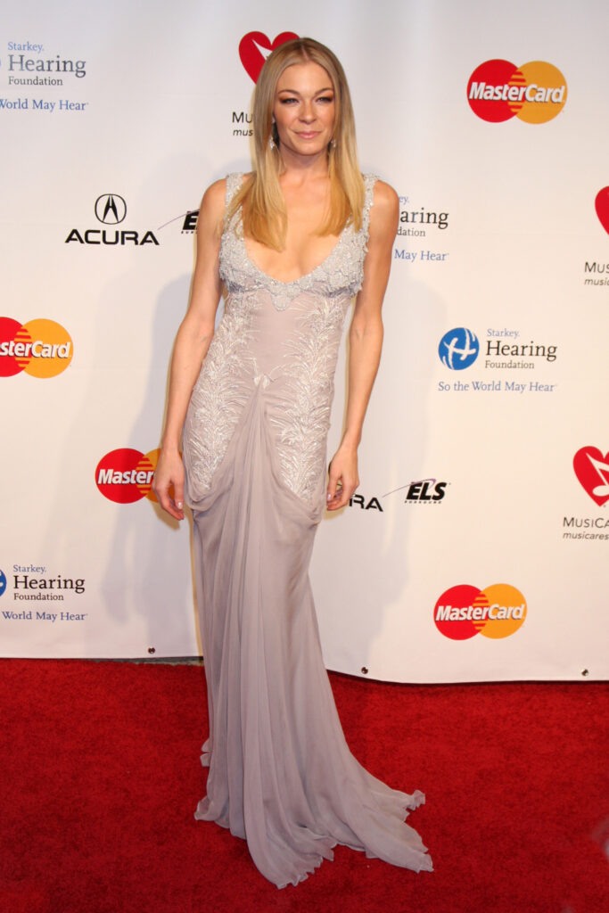 LeAnn Rimes at Muiscares Gala