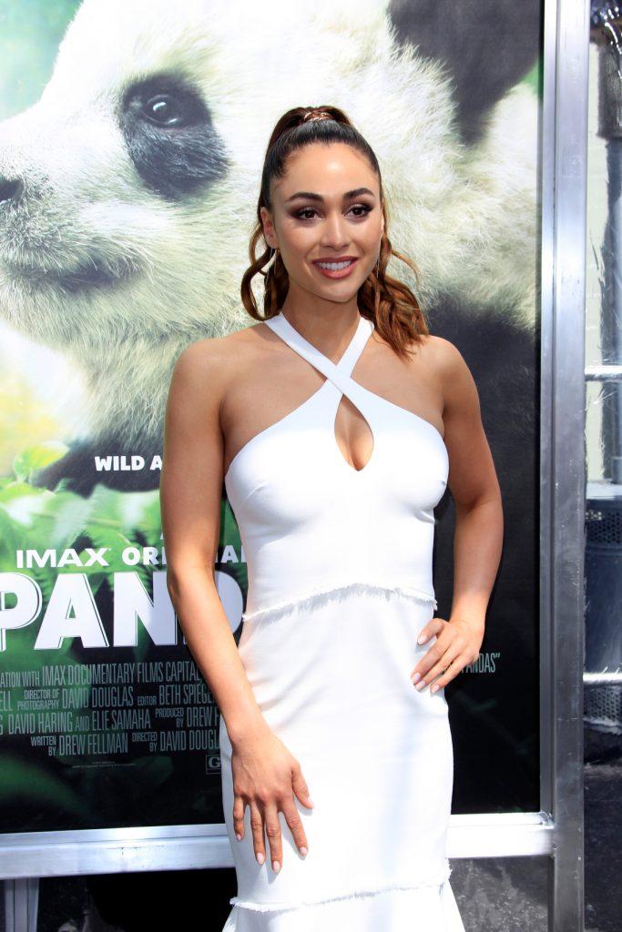 Lindsey Morgan at the World Premiere Of Pandas