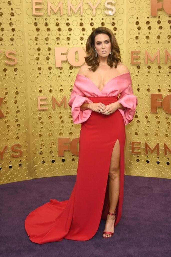 Mandy Moore at Primetime Emmy Awards