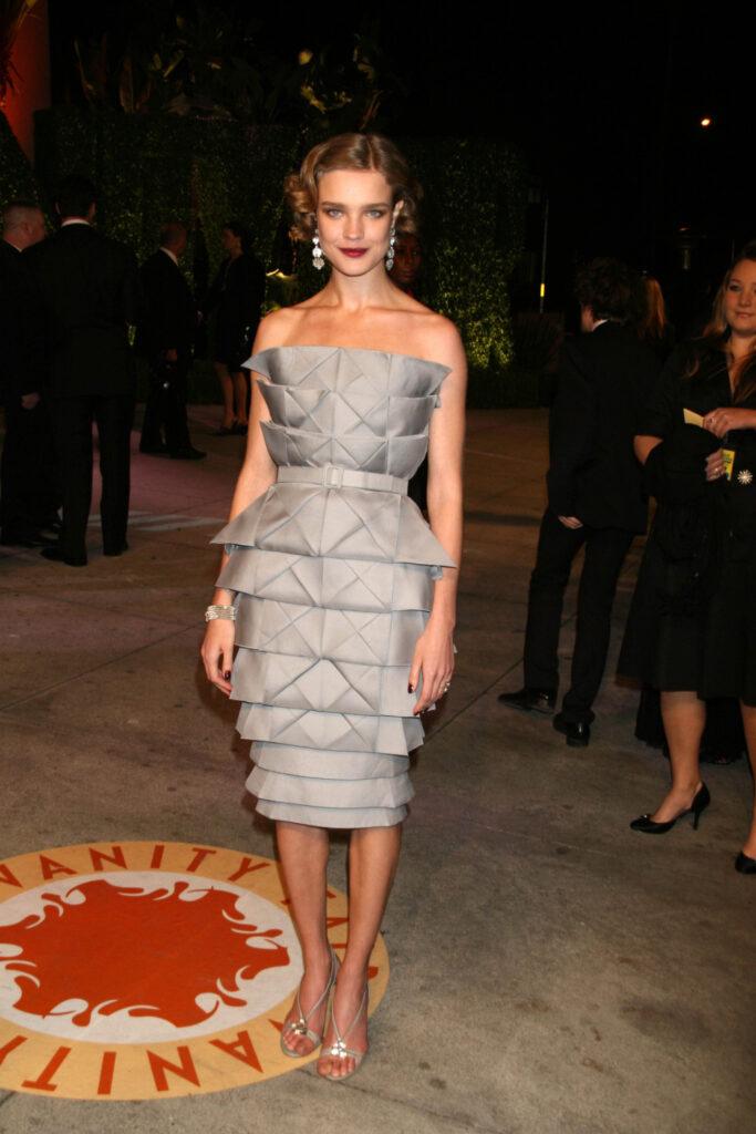 Natalia Vodianova at the Vanity Fair Oscar Party