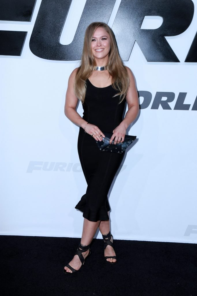 Ronda Rousey at the Avengers Age Of Ultron Premiere