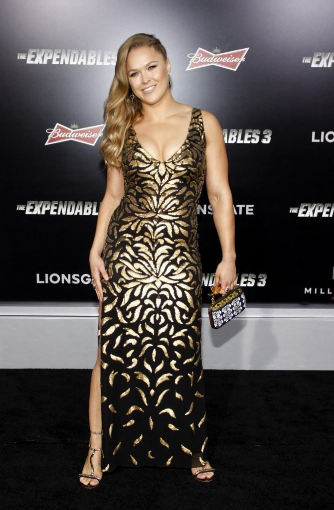Ronda Rousey at the TCL Chinese Theatre