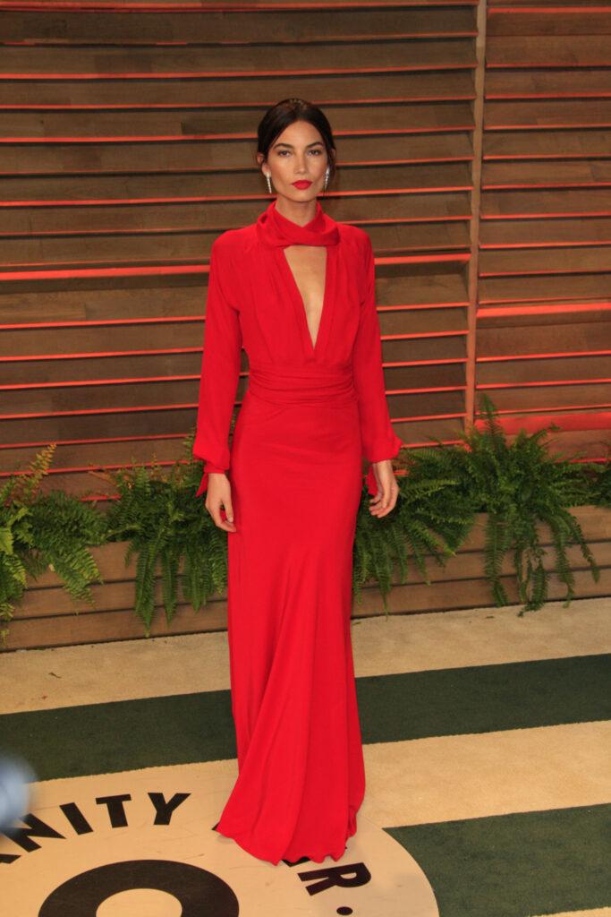 Actress Lily Aldridge