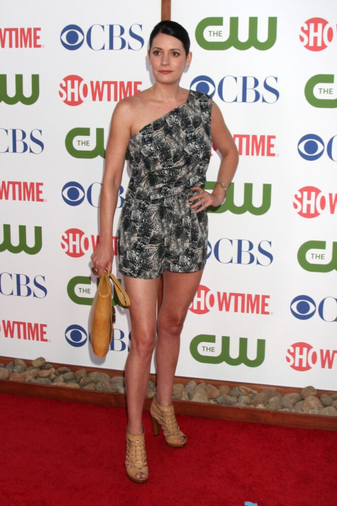 Actress Paget Brewster