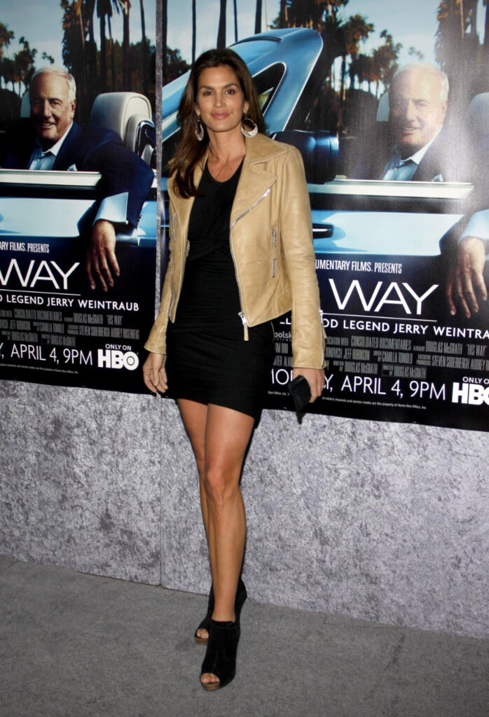 Cindy Crawford at the HBO's His Way Premiere