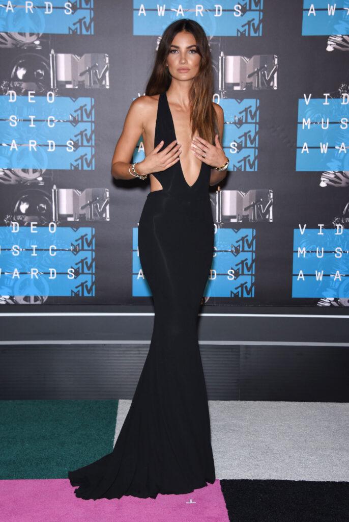 Lily Aldridge at MTV Video Music Awards
