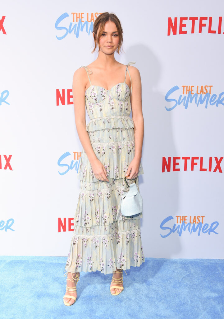 Maia Mitchell at The Last Summer Premiere
