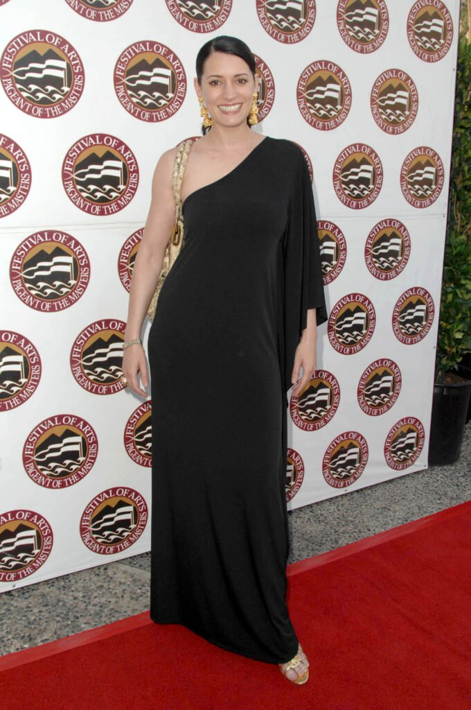 Paget Brewster at Annual Festival of Arts Pageant