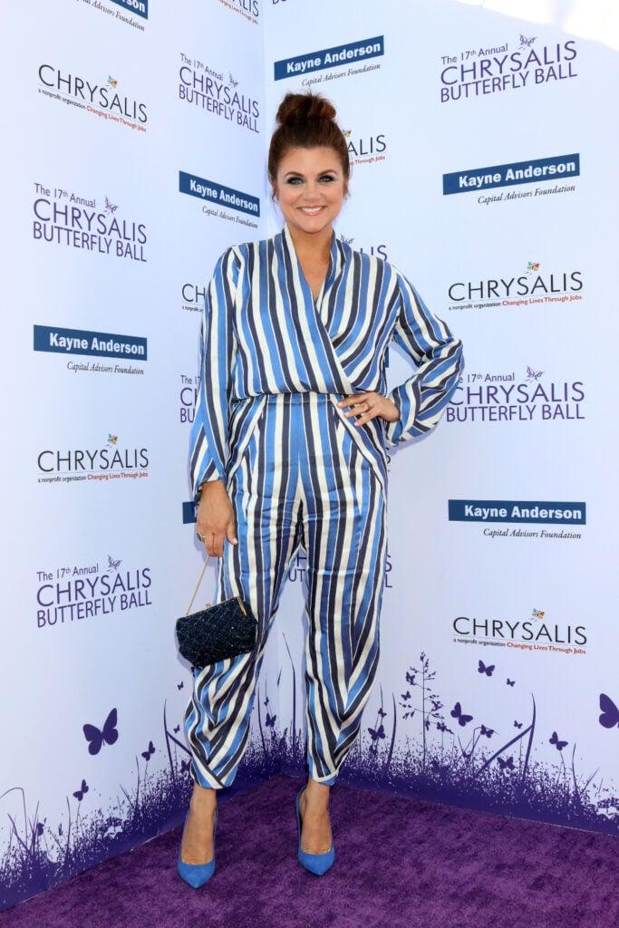 Tiffani Thiessen at Annual Chrysalis Butterfly Ball