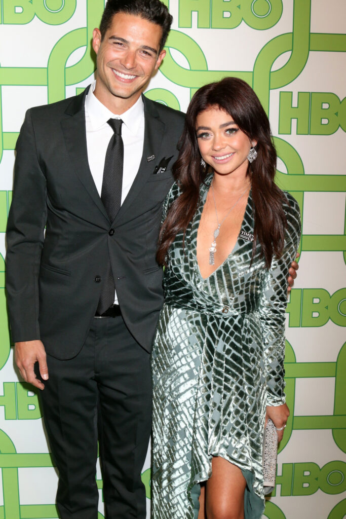 Well Adam & Sarah Hyland at HBO Post Golden Globe Party